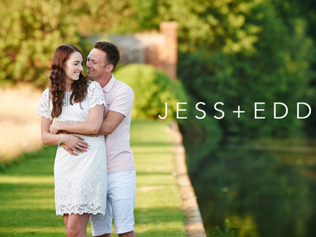 Jess & Edd Pre-Wedding Photo Shoot - Mark's Hall Estate
