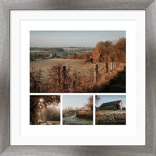 """Framed 12""""x12"""" Photographic Print - St Mary's Church, Bures"""
