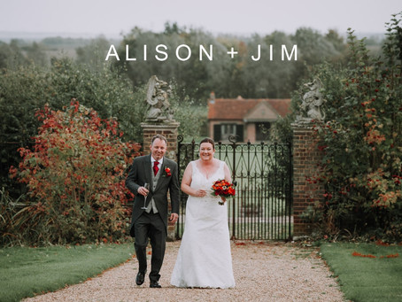 Alison & Jim - 21st October 2017 - Layer Marney Tower