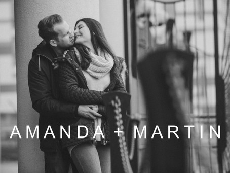 Amanda & Martin's Pre-Wedding Photo Shoot