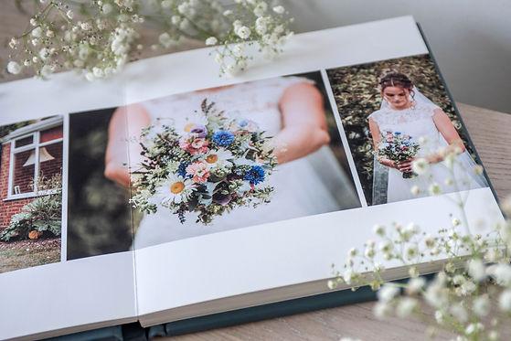 Folio Fine Art Wedding Album EPS Photography