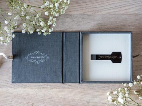 Folio Personalised USB Key and Box