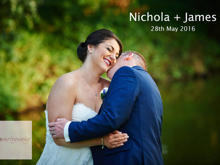 Nichola & James - 28th May 2016 - Smeetham Hall Barn