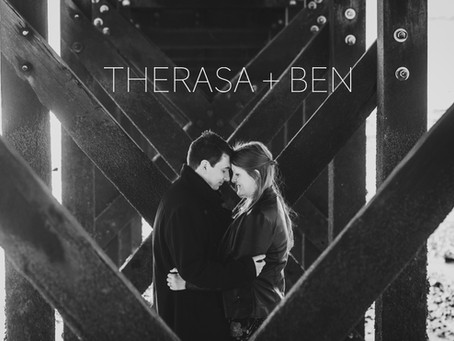 Therasa & Ben's Pre-Wedding Photo Shoot - Southend Pier, Essex