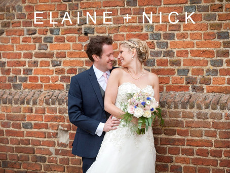 Elaine & Nick - 22nd July 2017 - Copdock Hall