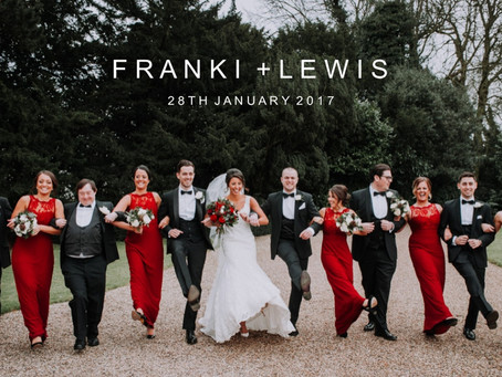 Franki & Lewis - 28th January 2017 - Smeetham Hall Barn
