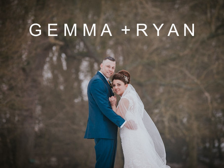 Gemma & Ryan 3rd March 2018 - Leez Priory, Essex