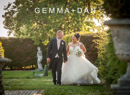 Gemma & Dan 12th May 2019 at Friern Manor.