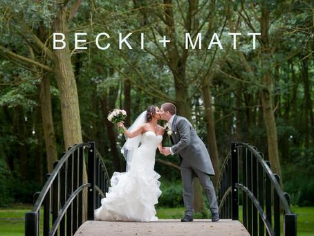 Becki & Matt - 4th August 2017 - Easton Grange