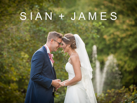Sian & James - 5th October 2017 - Leez Priory