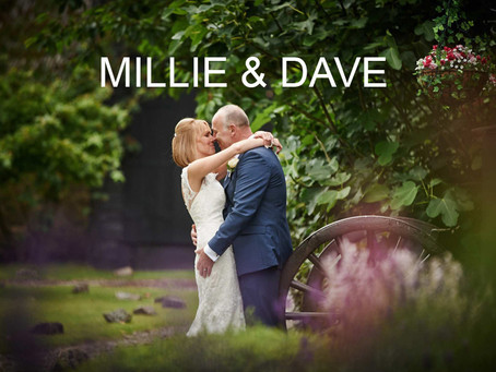 Millie & Dave - 15th July 2016 - Crabbs Barn