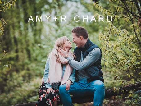 Amy + Richard's Pre-Wedding Photo Shoot - Blakes Wood, Essex