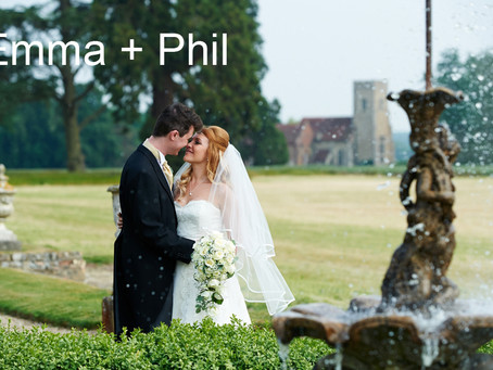 Emma & Phil - 12th June - Gosfield Hall