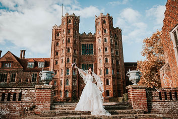 Layer Marney Tower, EPS Photography, Essex Wedding Photographer, Bride Photograph