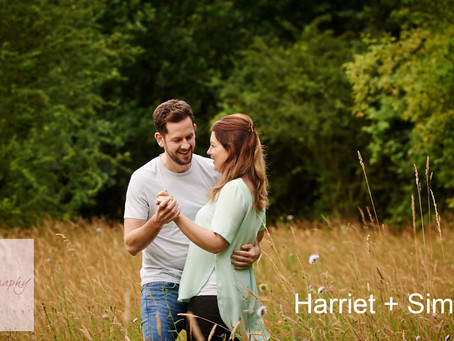 Harriet & Simon's Pre-Wedding Shoot - July 2016