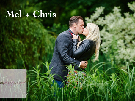 Mel & Chris Pre-Wedding Shoot at Houchins Farm