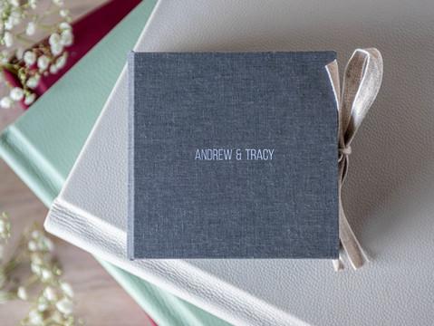 Folio Personalised USB Box & Fine Art Wedding Albums