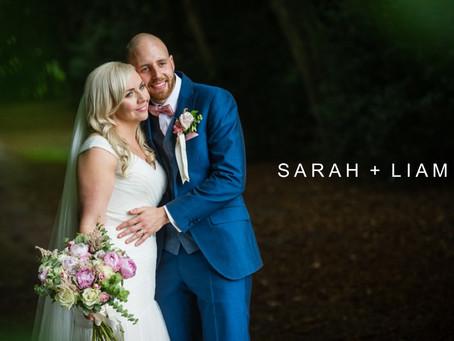 Sarah & Liam - 29th July 2017 - Smeetham Hall Barn wedding venue