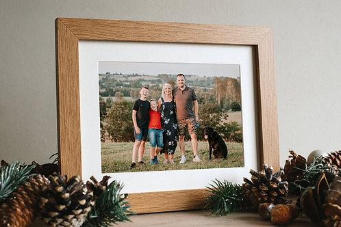 Portrait Gift Voucher - Framed  8 x 6 Print & Digital Images