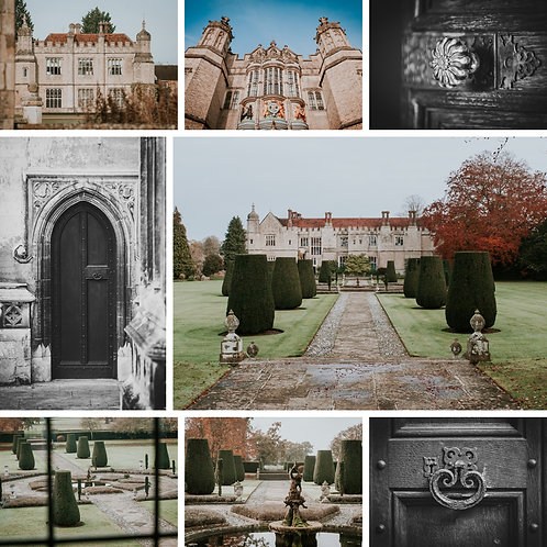 Square Photographic Greeting Card - Hengrave Hall