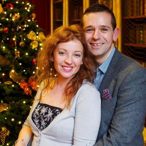 Enjoying a Photographers Christmas Party at Hintlesham Hall Wedding Venue