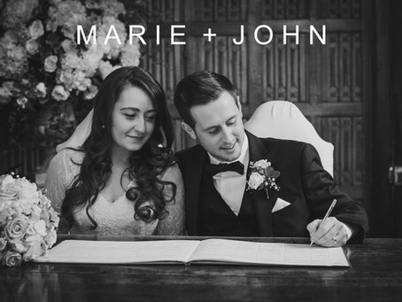 Marie & John - 17th March 2017 - Gosfield Hall