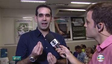  Participação no  Bom Dia PE , em entrevista com o repórter Danilo César (junho/2017)