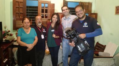Gravação de reportagem para a TV Jornal, afiliada do SBT em Pernambuco, além de diversas gravações no estúdio respondendo dúvidas e perguntas de telespectadores.