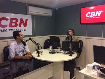 Entrevista à Rádio CBN (Abril de 2017)