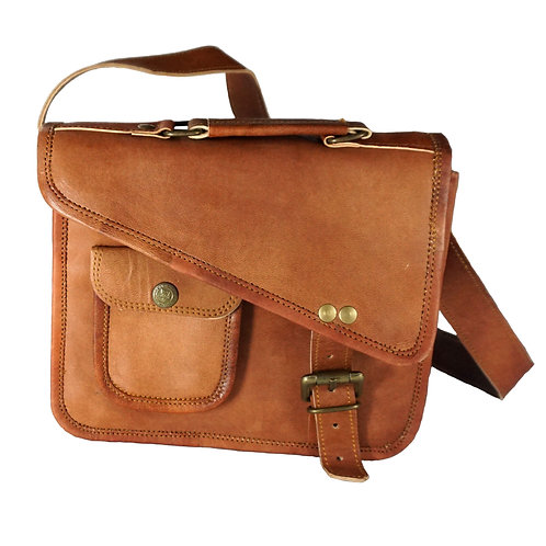 Small Journey Bag with Buckles