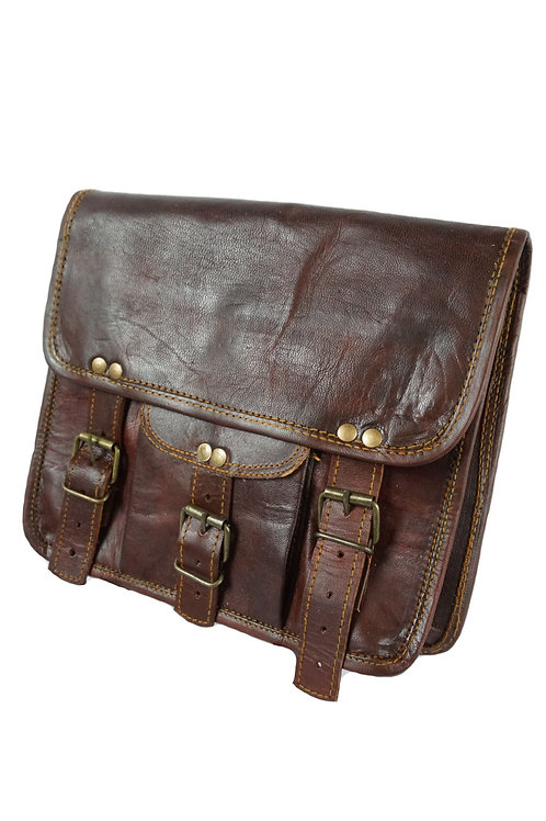 Large Journey Bag With Buckles