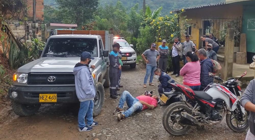 Accidente en La Cedrona, Andes