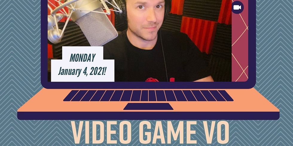 VIDEO GAME VOICE OVER w/ NATE BEGLE - ONE NIGHT ONLY!