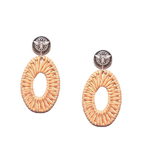 Marlyn schiff: Raffla Oval Earring