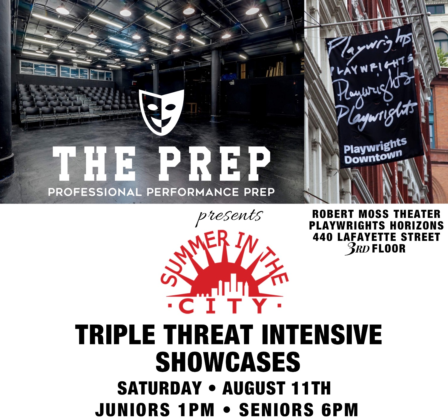 Summer in The City: Triple Threat Summer Intensive Showcases