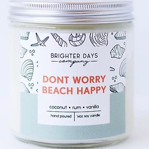 Candles: Beach Happy