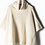 Thumbnail: Look by M: Cable Knit Poncho
