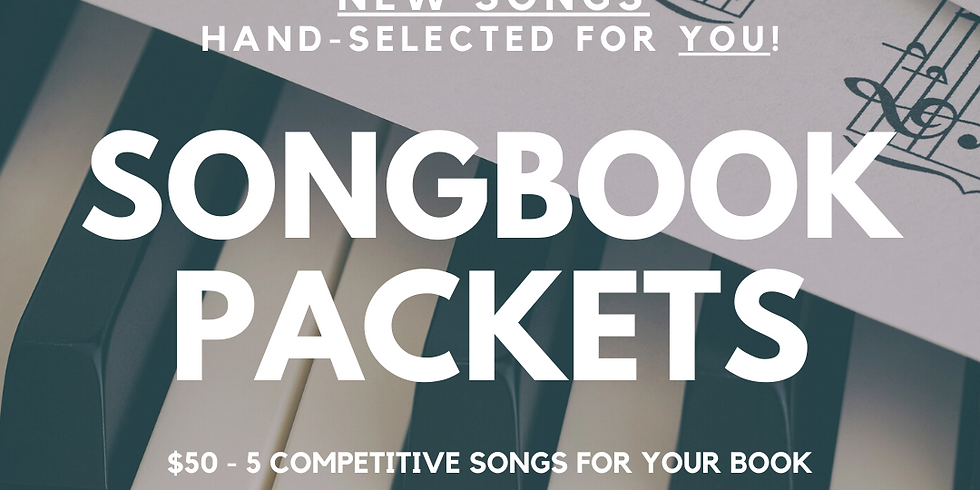 Songbook Packet