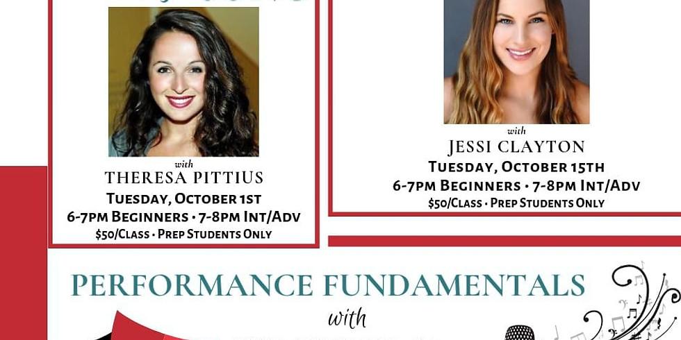 Vocal Technique Essentials with Jessi Clayton Tues, 10/15, 6-8pm