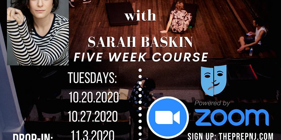 Advanced Acting w/ Sarah Baskin - KIDS