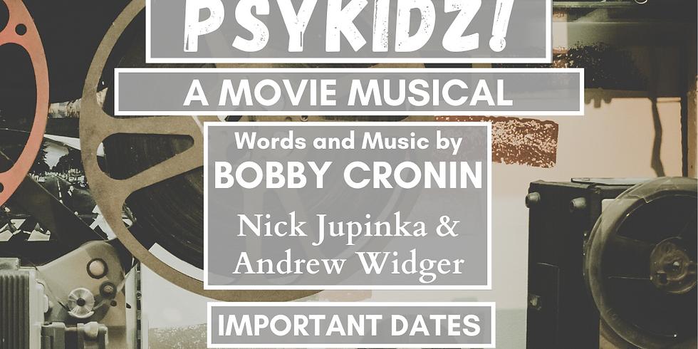 PSYKIDZ- Auditions! JULY 8th 5-7:30PM ET