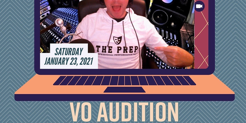 VoiceOver Audition Masterclass w/ NATE BEGLE
