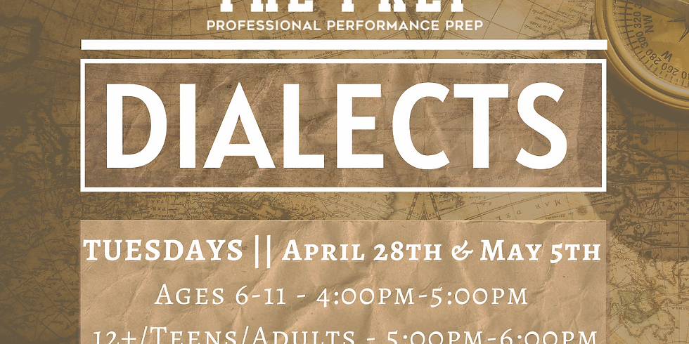 Dialects w/ Prep Faculty Adeola Role