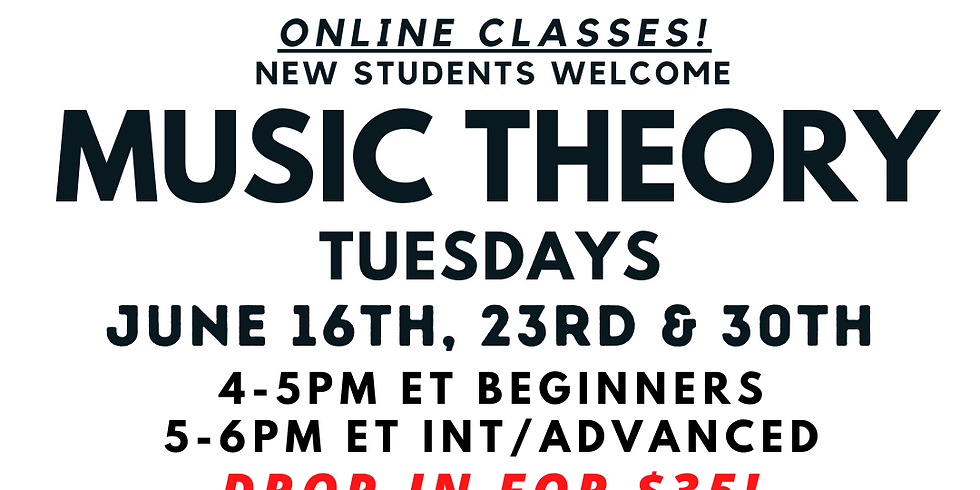 Music Theory (ALL AGES)
