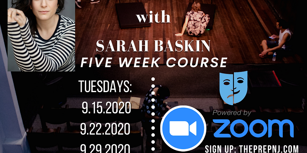 Advanced Acting w/ Sarah Baskin - TEENS