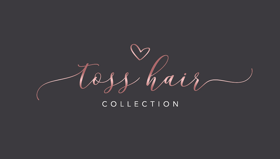 Toss Hair Collection - Business Card Fro