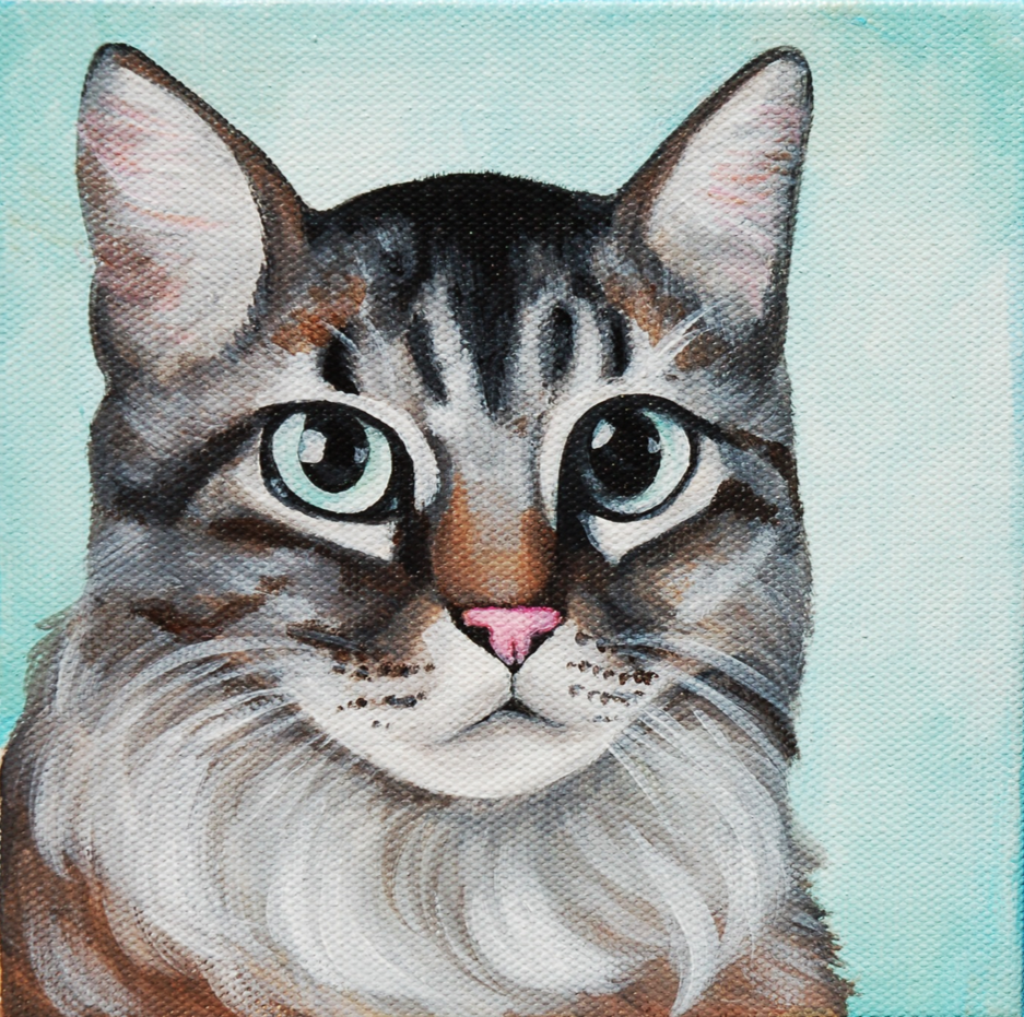 beautful cat painting on canvas.png