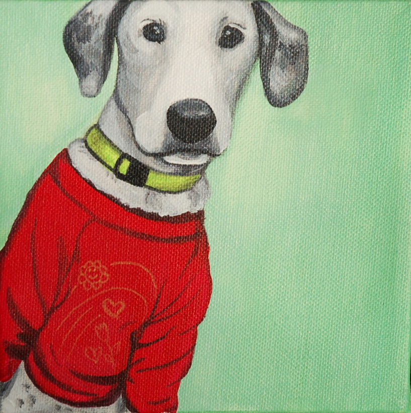 cute puppy wearing red sweatshirt painting.png