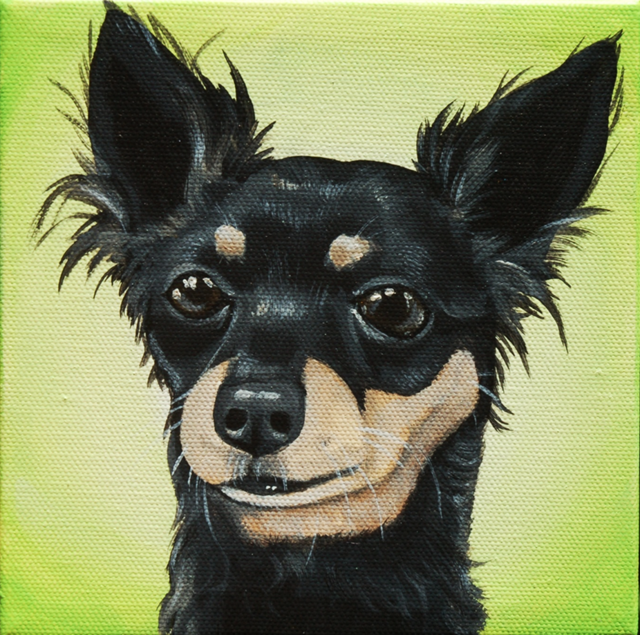 black long haired chihuahua painting.png