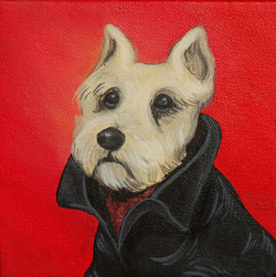 Dog wearing leather jacket painting.png